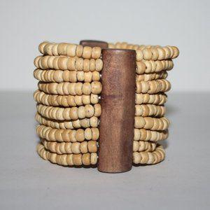 """Beautiful wooden bracelet 7"""""""